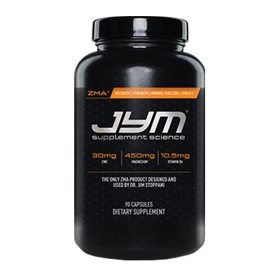 JYM ZMA Zinc and Magnesium