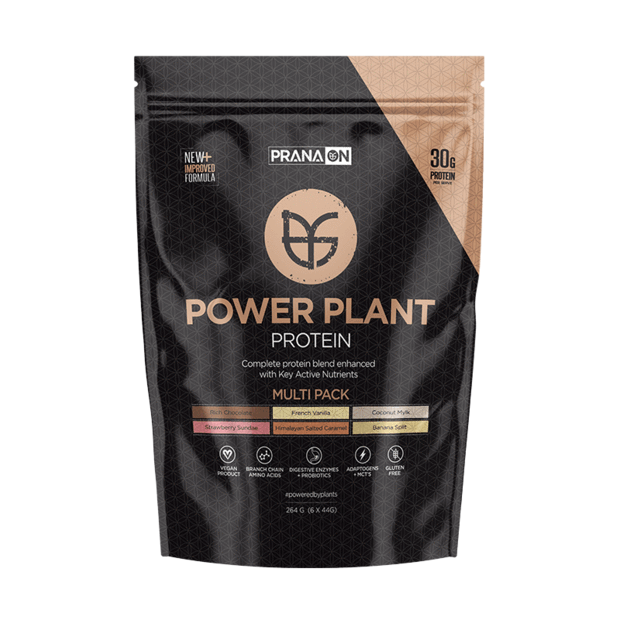 PRANA ON Power Plant Protein Multi Pack (Vegan Approved)