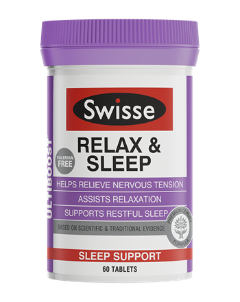 Swisse Ultiboost Relax & Sleep 60 Tablets