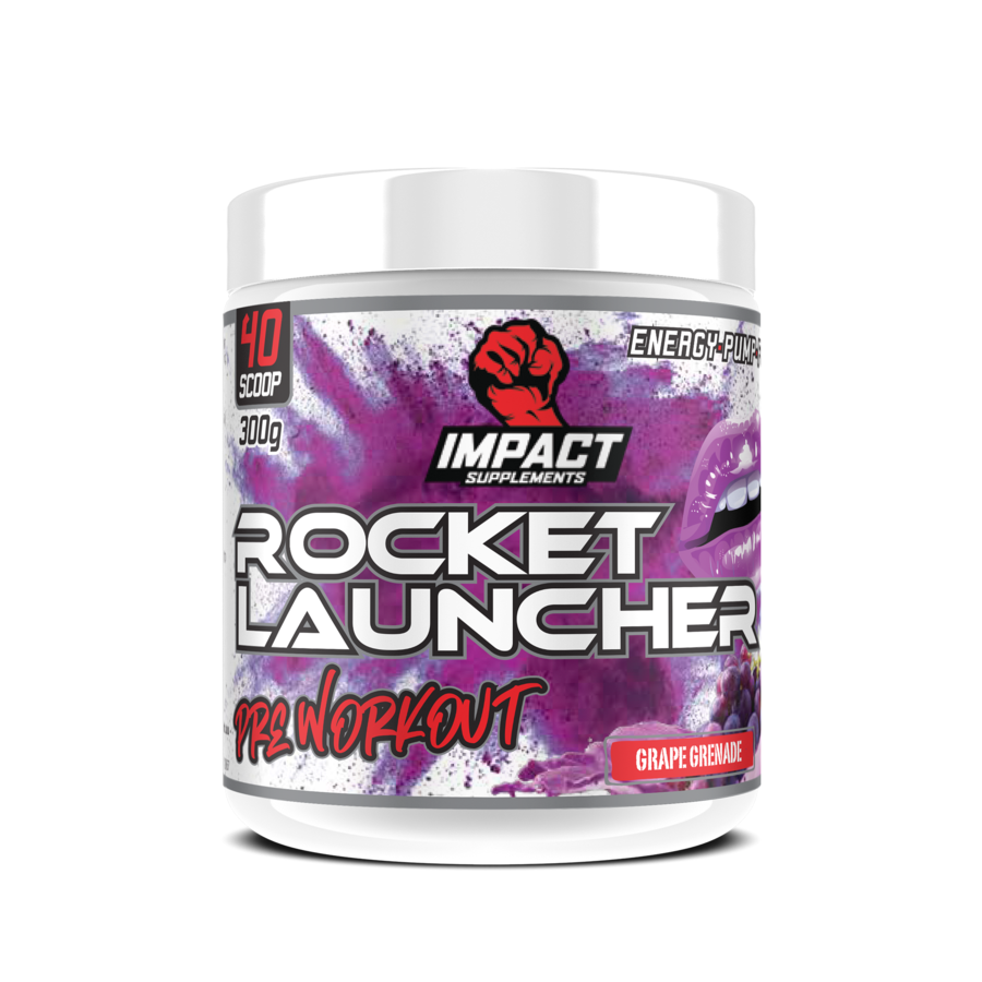Impact Supplements Rocket Launcher Pre Workout 300g