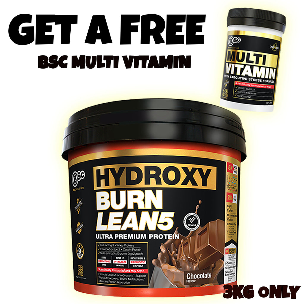 BSC Hydroxy Burn Lean 5 l Body Science