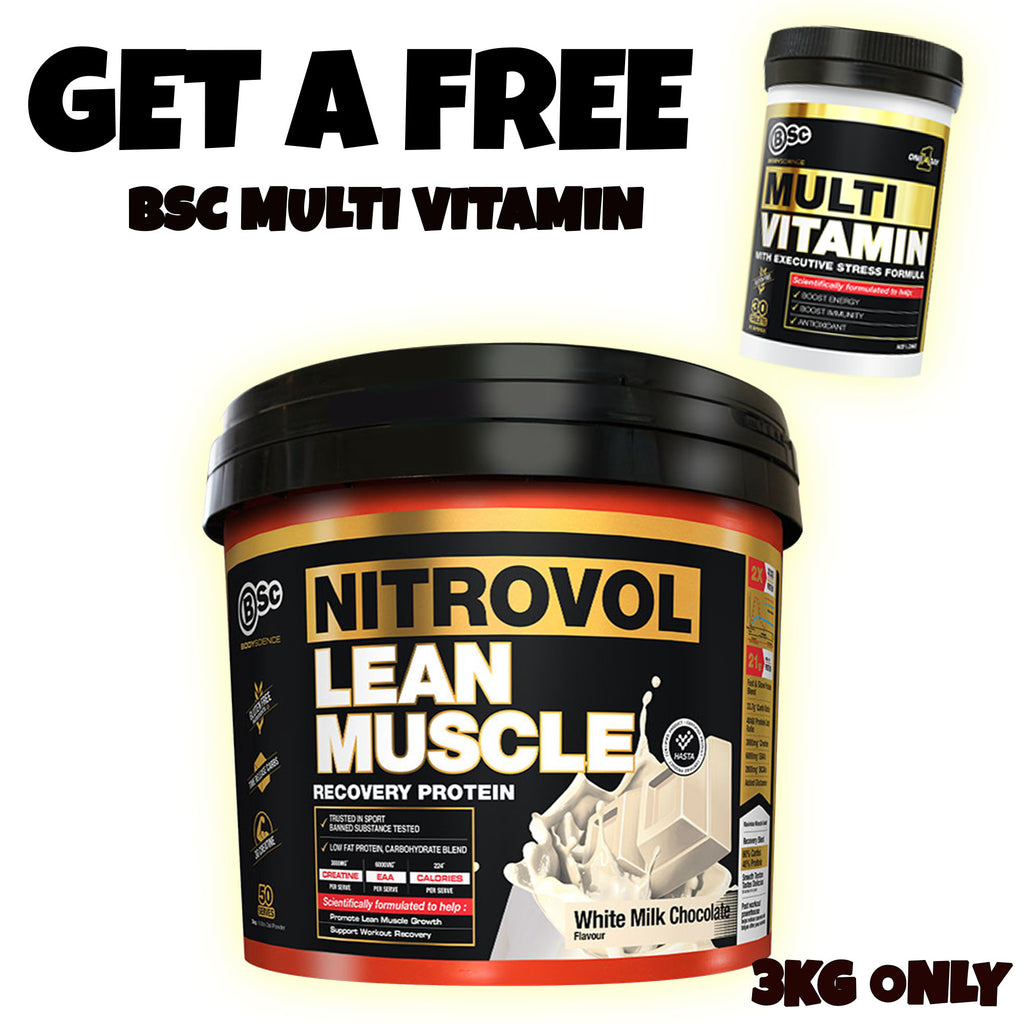 BSC Nitrovol Lean Muscle l Body Science
