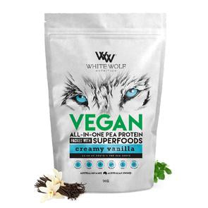 White Wolf Vegan - All in One Pea Protein