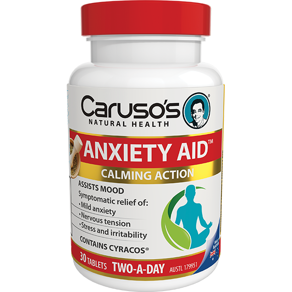 Carusos Natural Health Anxiety Aid