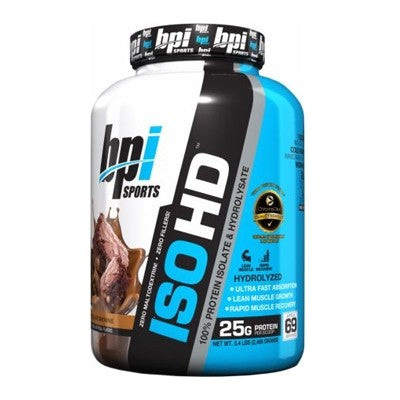 BPI Sports ISO HD Whey Protein