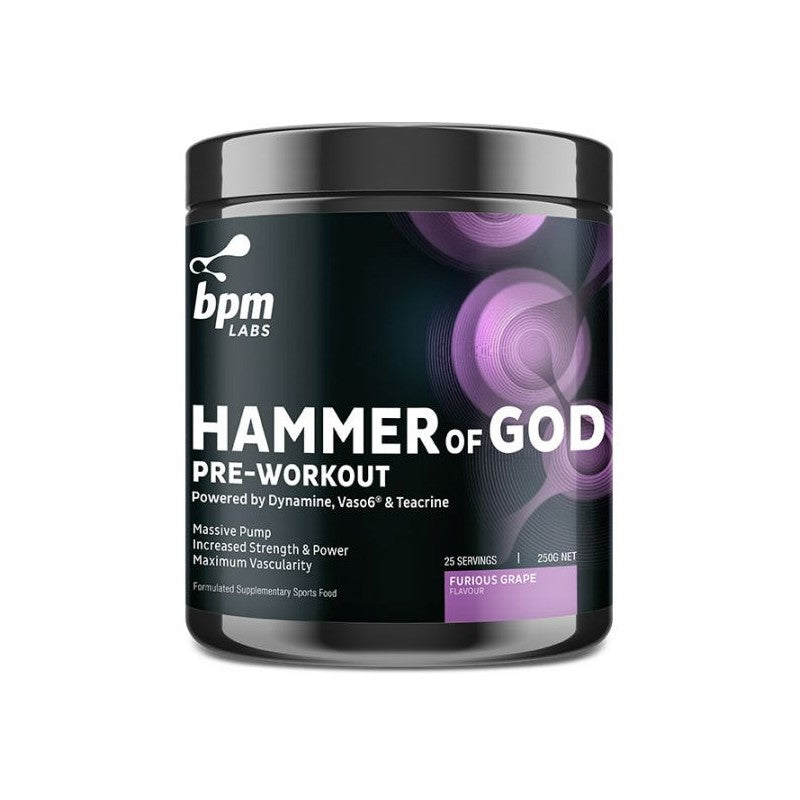 BPM Labs HAMMER of GOD Pre-Workout