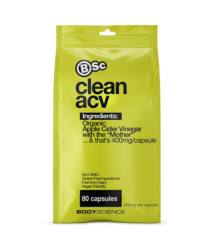 Clean ACV (Apple Cider Vinegar) by Body Science BSc