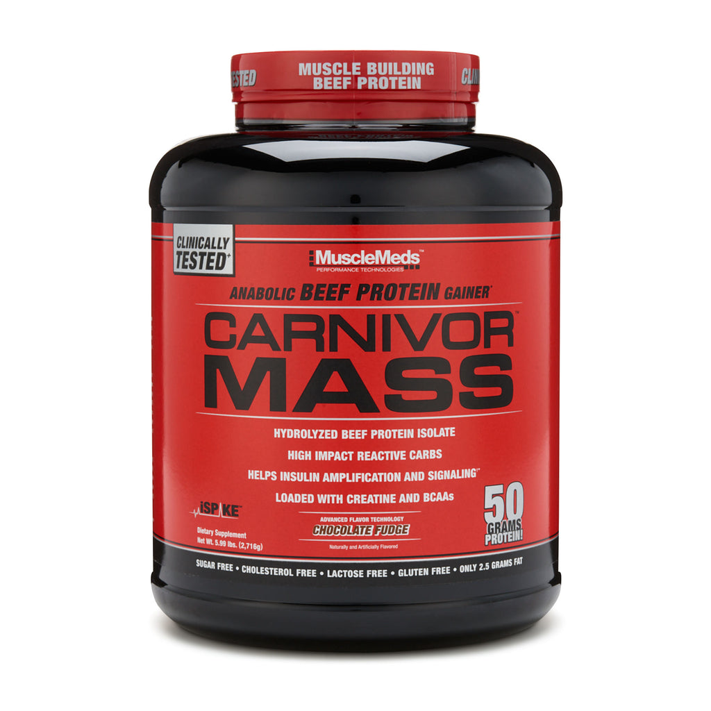 MuscleMeds Carnivor MASS Beef Protein isolate Gainer
