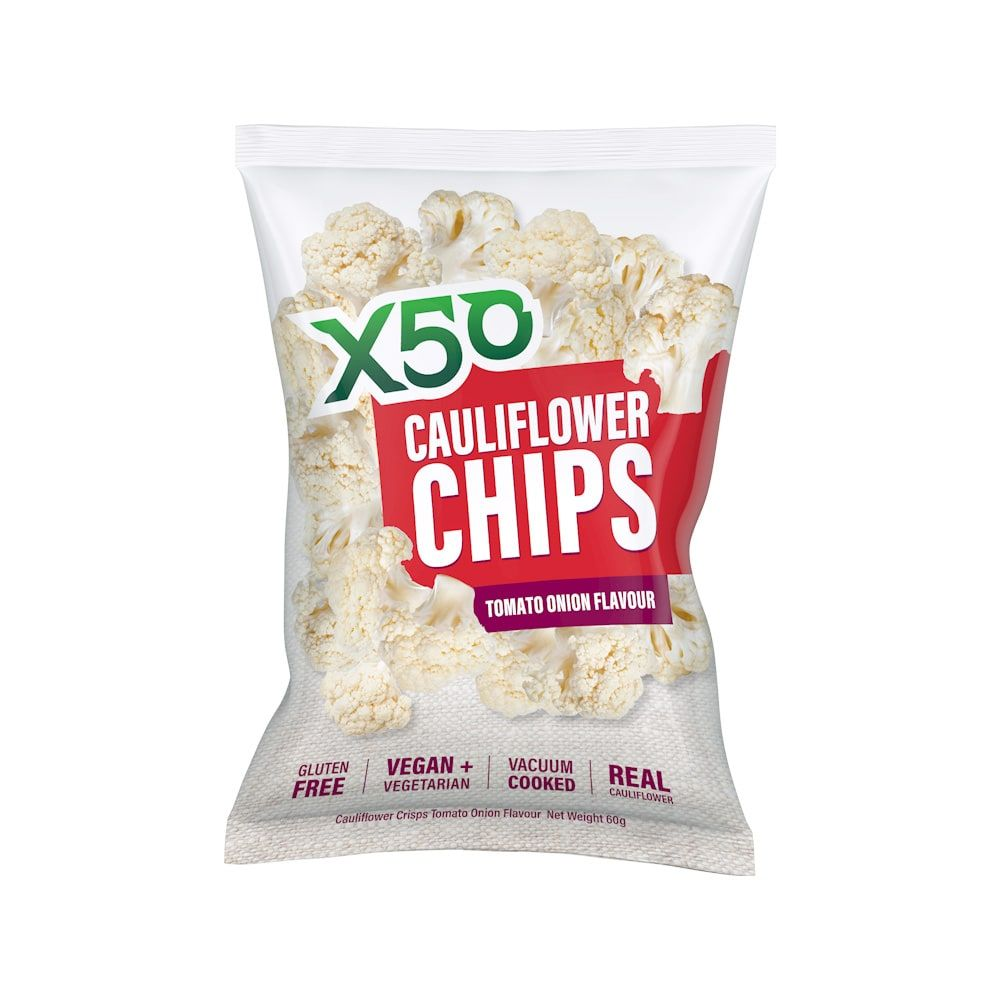 X50 Cauliflower Chips