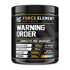 Force Element Warning Order Pre Workout