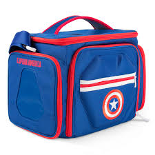 Perfect Shaker PerfectPrep Meal Bag Captain America