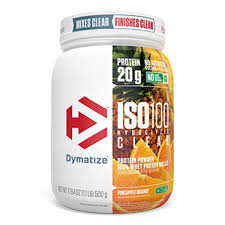 Dymatize ISO 100 Hydrolyzed CLEAR Whey Protein Isolate (WPI)