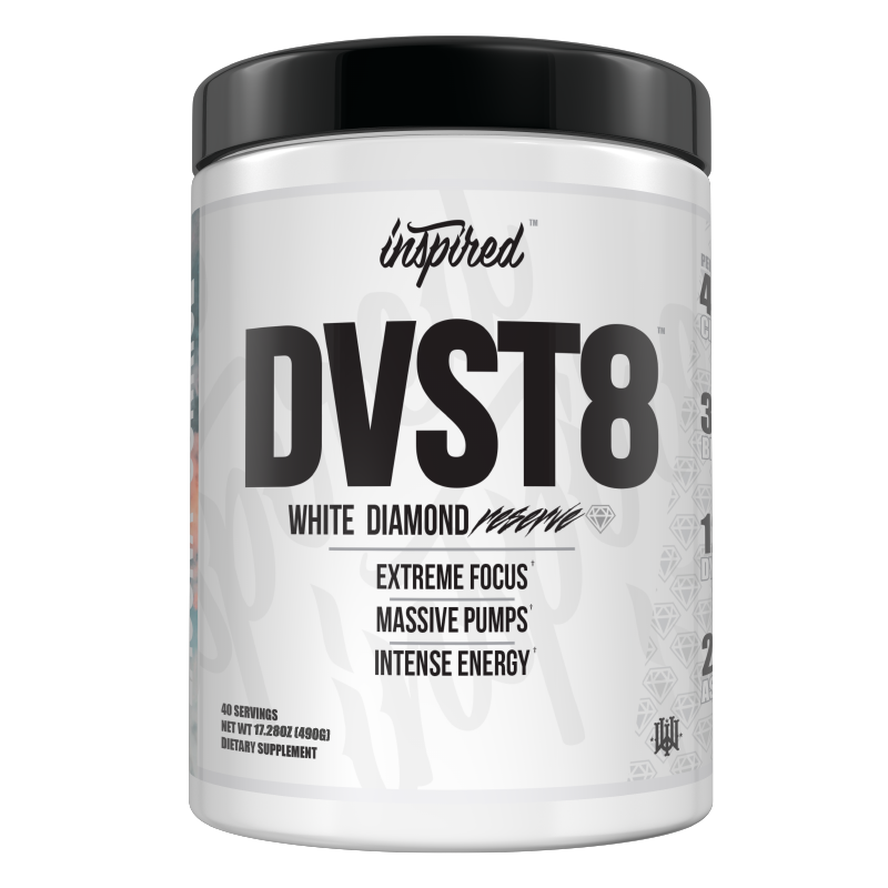 Inspired Nutraceuticals DVST8 White Diamond Reserve Pre Workout