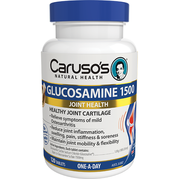 Carusos Natural Health Glucosamine 1500