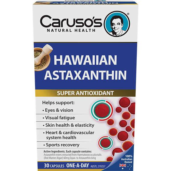 Carusos Natural Health Hawaiian Astaxanthin