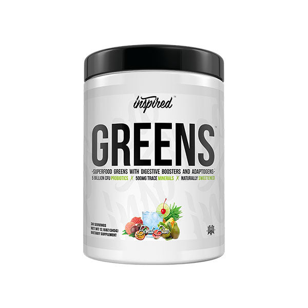 Inspired Nutraceuticals GREENS with Digestive Boosters and Adaptogens