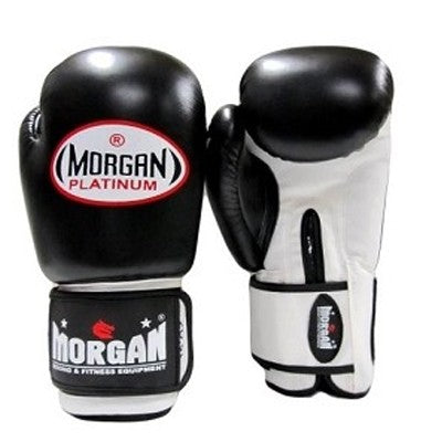 Morgan Platinum Leather Sparring Gloves