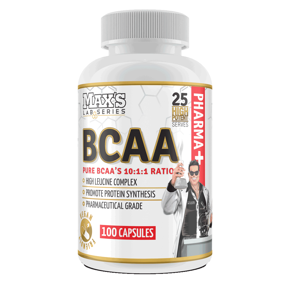 MAXs Lab Series BCAA 10:1:1 Ratio 100 Capsules