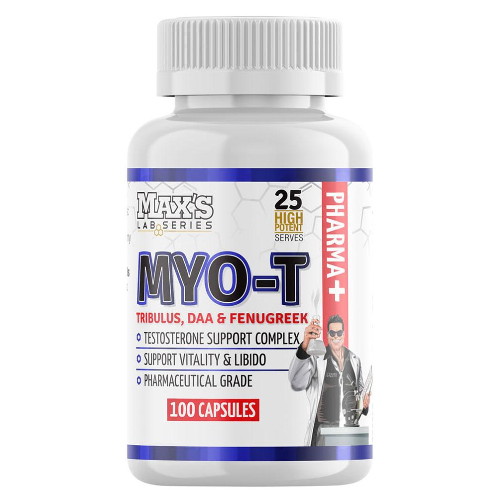 MAXs Lab Series MYO-T Testosterone Support - Tribulus, DAA and Fenugreek