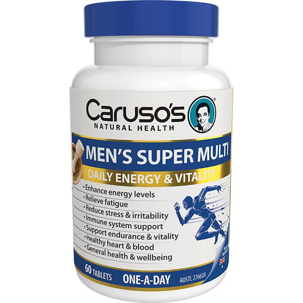 Carusos Natural Health Mens Super Multi