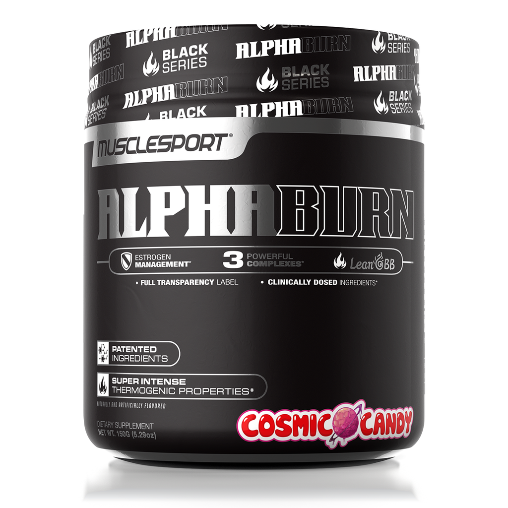 Musclesport AlphaBurn Thermogenic Fat Burner