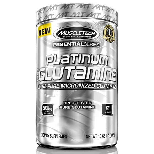 MuscleTech 100% Platinum Glutamine