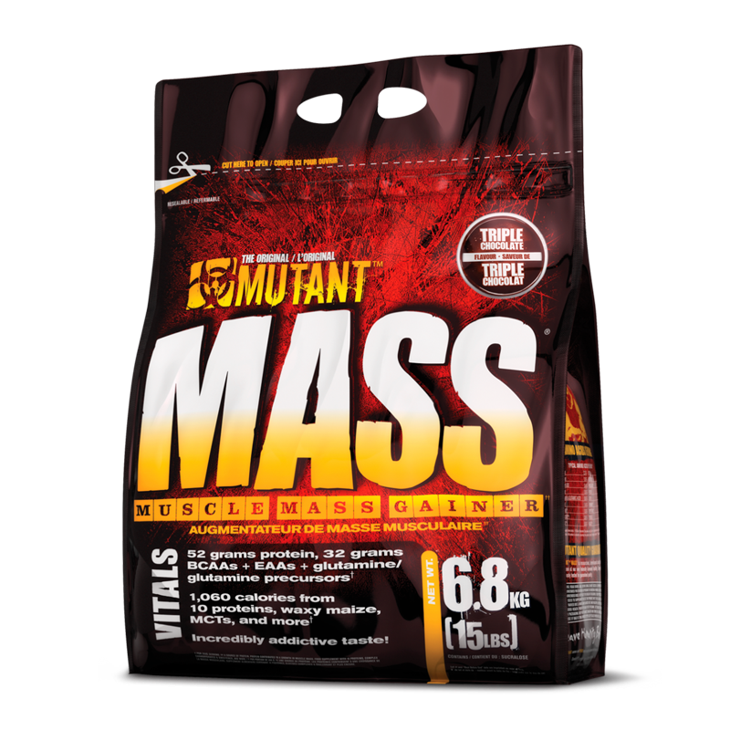 Mutant Mass Protein Powder + FREE Mutant Madness Pre
