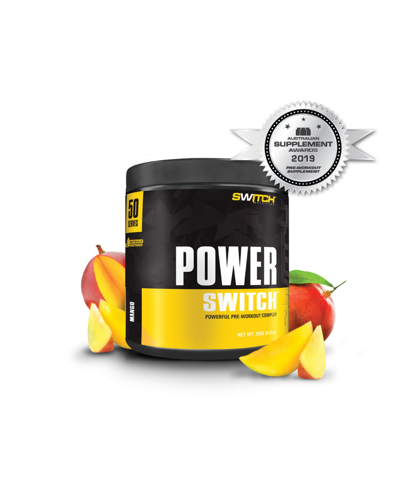Switch Nutrition Power Switch - Powerful Pre Workout Complex