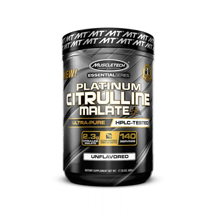 MuscleTech Platinum Citrulline Malate HPLC Tested 140 Servings