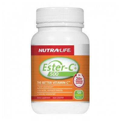 Nutra-Life Ester-C Plus 500 Chewables