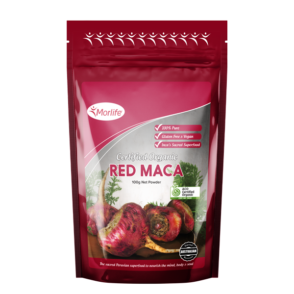 Morlife Organic Red Maca Powder