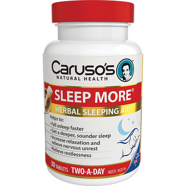 Carusos Natural Health Sleep More