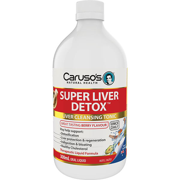 Carusos Natural Health Super Liver Detox