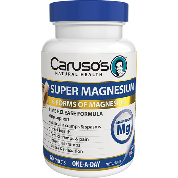 Carusos Natural Health Super Magnesium