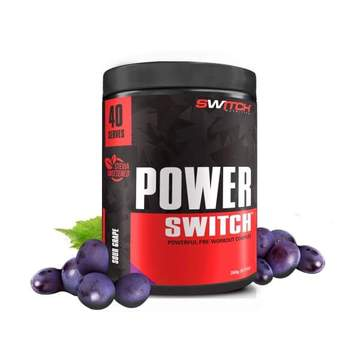 Switch Nutrition Power Switch ADVANCED Pre Workout 260g