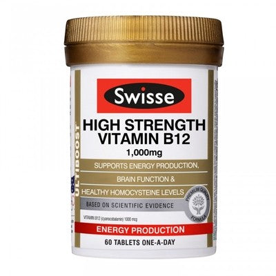 Swisse High Strength Vitamin B12
