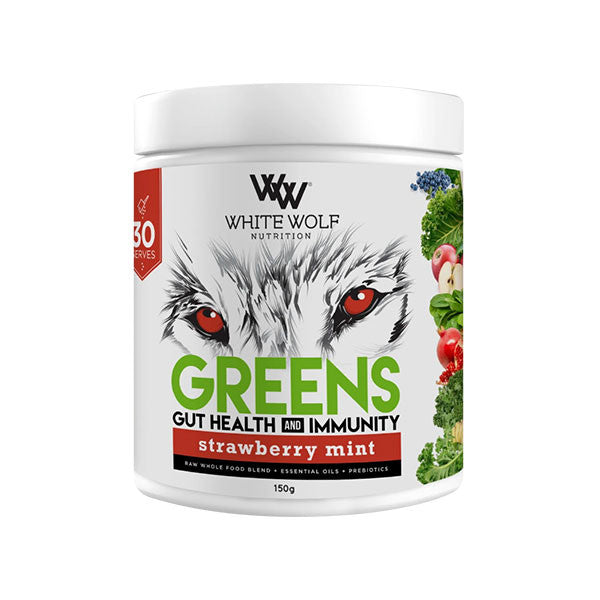 White Wolf Greens with Gut Health and Immunity 150g