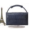 Mini Crocodile Pattern Leather Clutch - DreaLeonie.com