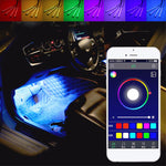 9led Rgb Colorful Car Interior
