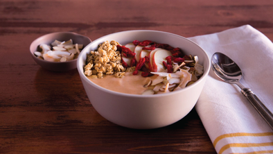 PUMPKIN YOGURT BOWL