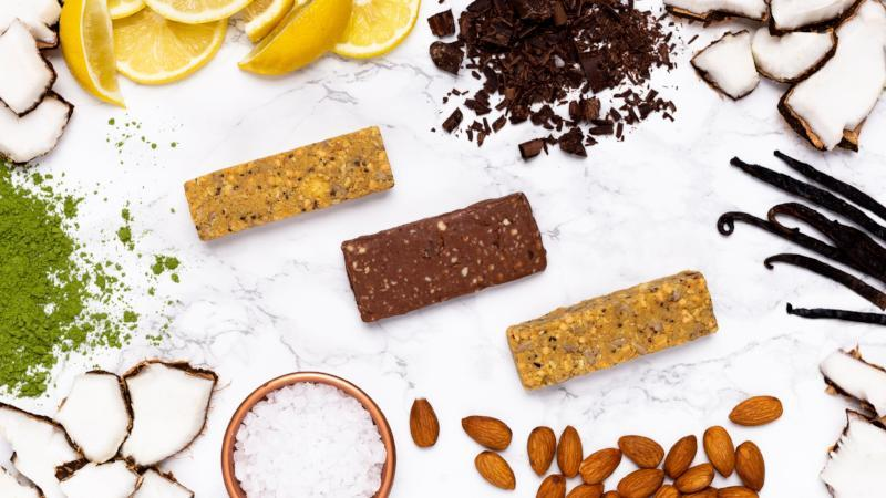 Unwrapped Dang Bars with Real Whole Food Ingredients