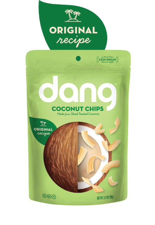 Dang Toasted Coconut Chips - Original Recipe