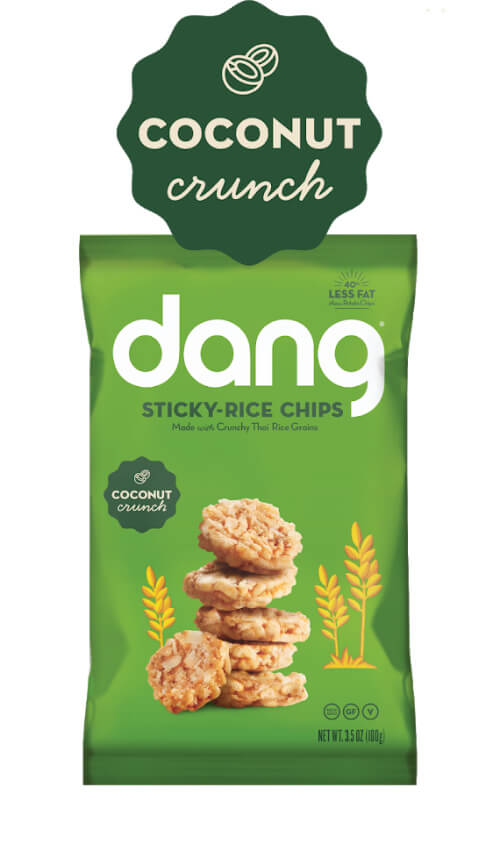 Dang Gluten Free Sticky-Rice Chips - Coconut Crunch