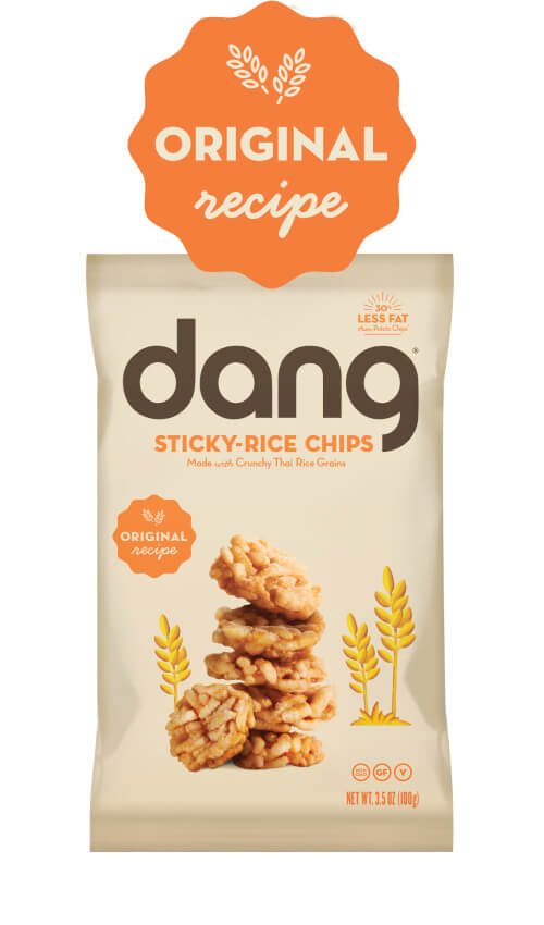 Dang Gluten Free Sticky-Rice Chips - Original Recipe