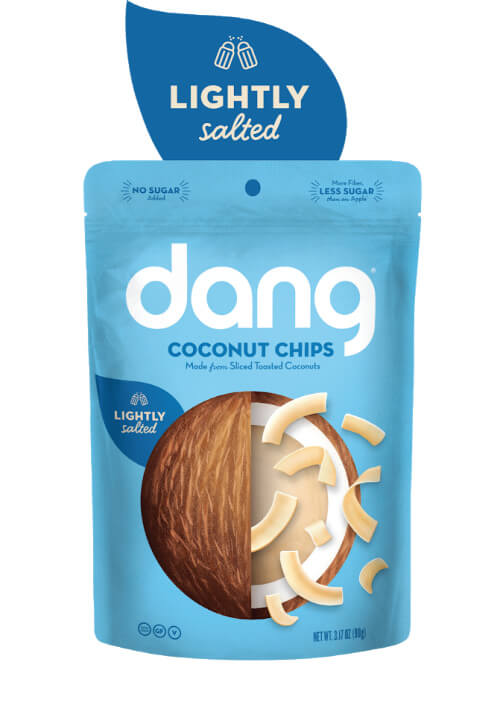 Dang Toasted Coconut Chips - Unsweetened Lightly Salted