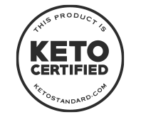 keto certified logo for dang lightly salted coconut chips