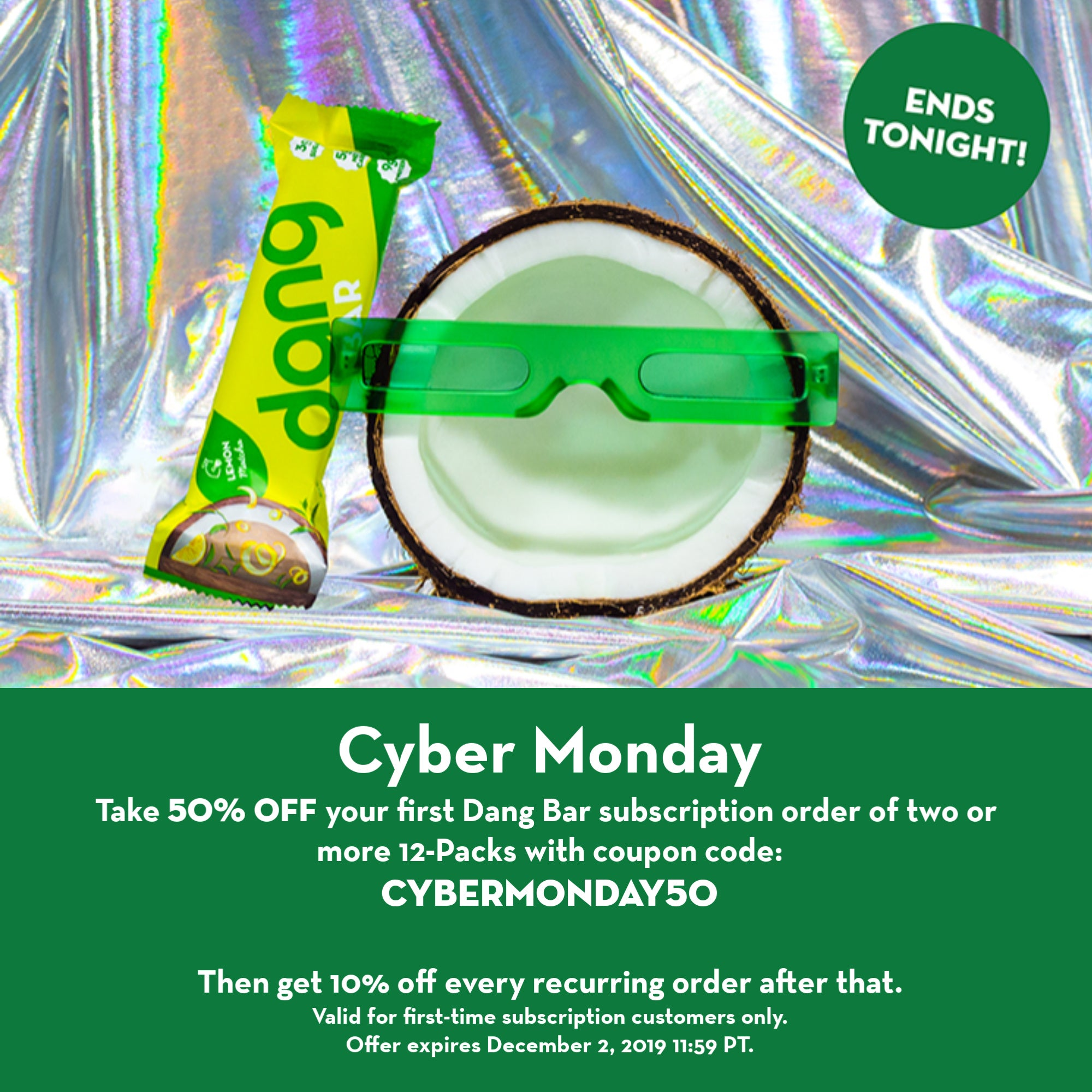 cyber monday 50 percent off deal