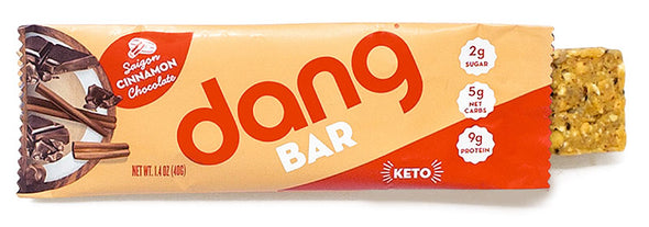 Dang Bar Saigon Cinnamon Chocolate Low Carb Low Sugar Perfect Keto Sack