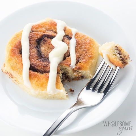 Wholesome Yum Blog Keto Fathead Dough Cinnamon Rolls