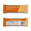 Peanut Butter Dang Bar Nutrition and Back of Wrapper